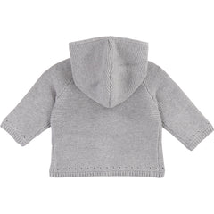 Light Grey Knit Cardigan