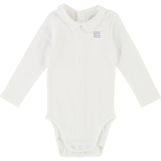 Off White Jersey Bodysuit