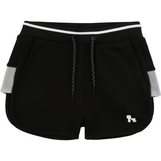 Black Logo Detail Shorts