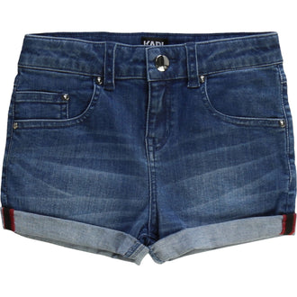 Denim Detailed Shorts