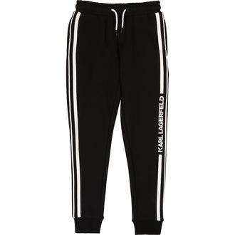 Black Side Logo Sweatpants