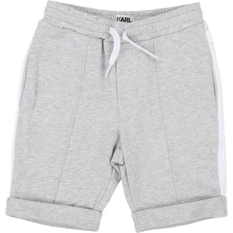 Grey French Terry Shorts