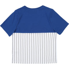 Blue & White Stripes Tee