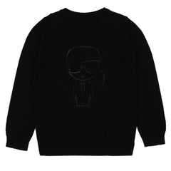 Black Karl Knit Sweater