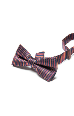 Autumn Stripe Bow Tie
