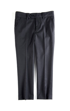 Black Mod Suit Pants