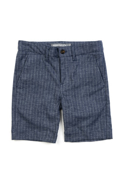 Chambray Trouser Shorts