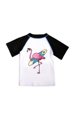 Flamingo Rash Guard