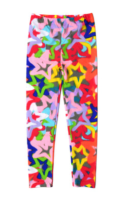 Graffiti Printed Sweatpants