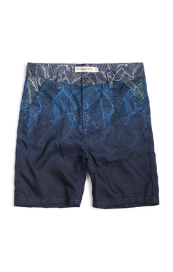 Ombre Palms Hybrid Shorts