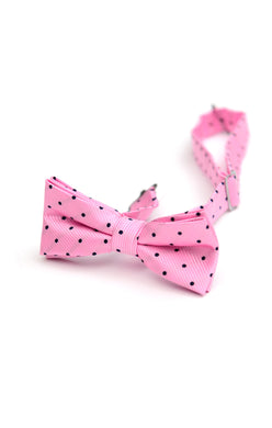 Pink&Navy Bow Tie