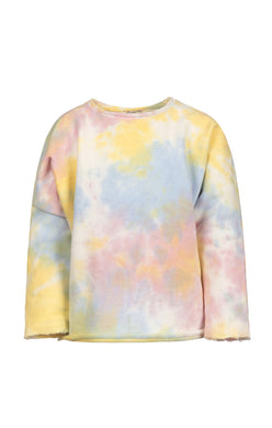Slouchy Watercolor Sweatshirt