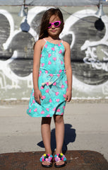 Teal Tide Leah Dress