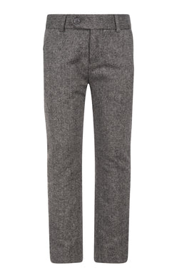 Tweed Tailored Wool Pants
