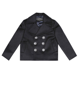 Navy Wool Pea Coat