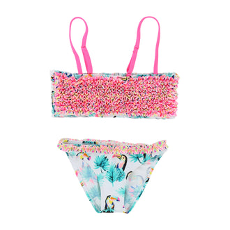 Multi 2 Piece Toucan Swimsuit