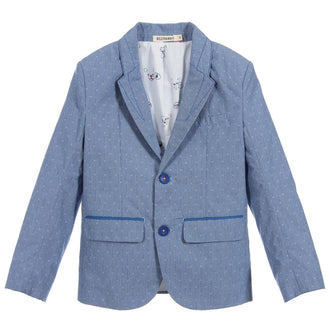 Blue Suit Jacket