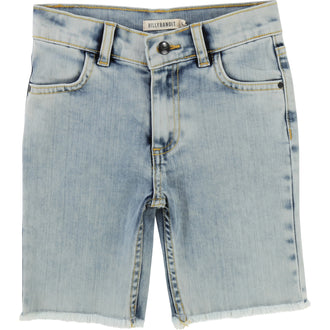 Bleach Denim Jean Shorts