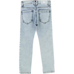 Denim Knee Patch Pant