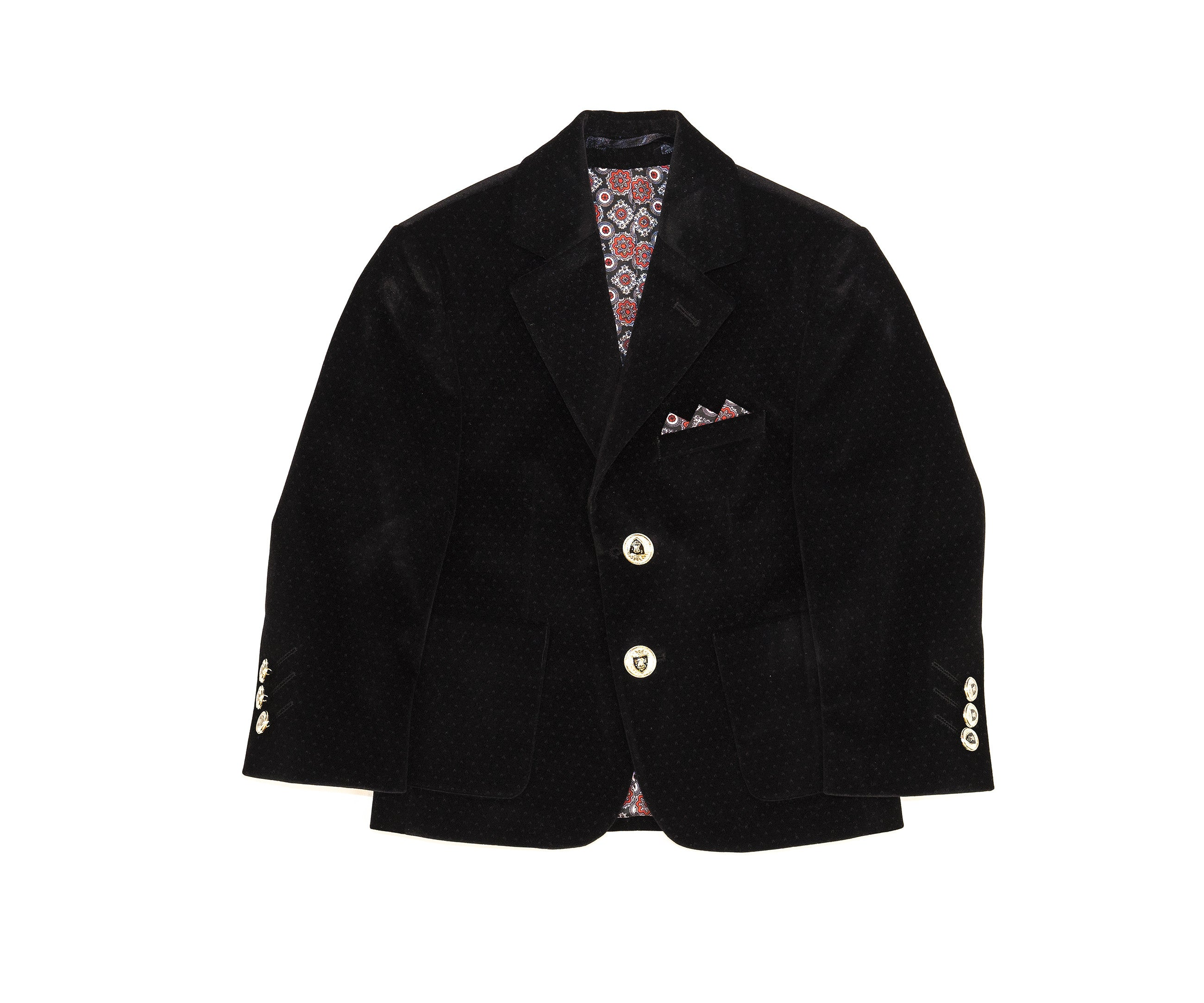 Black Velvet Blazer The Red Balloon