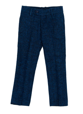 Blue Tweed Pants