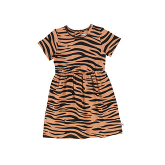 Sandstone Tiger Stripe Dress