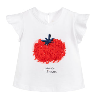 Rouge White Fruity Tee