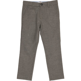 Light Grey Heather Wool Pants