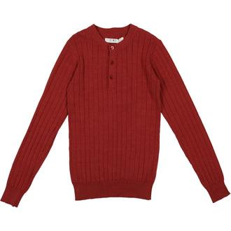 Terra Crew Ribbed Sweater