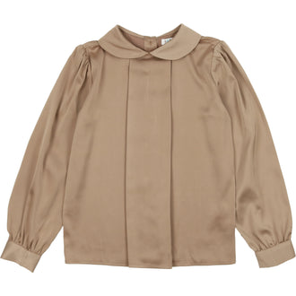 Toffee Silky Blouse