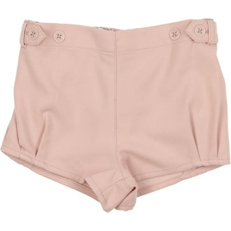 Mauve Wool Shorts