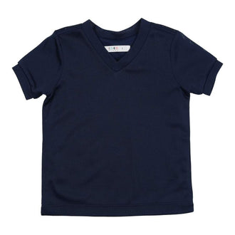 Navy Short Sleeve Tennis Tee