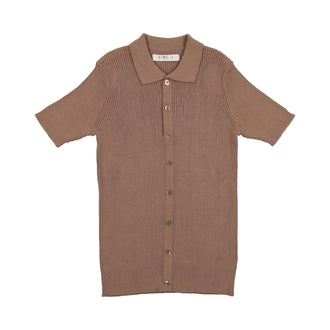 Nutmeg Knit Polo