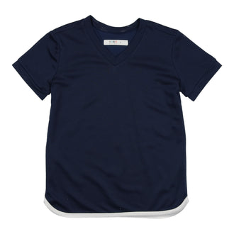 Navy/White Tennis Tee