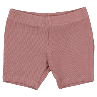 Deep Rose Biker Shorts