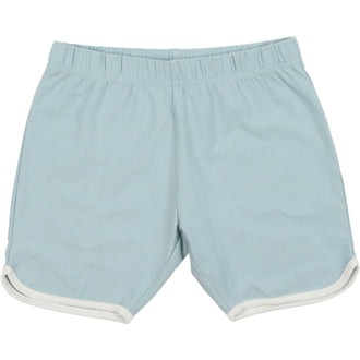Pale Blue French Terry Shorts