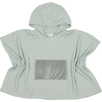 Sage Green Terry Poncho