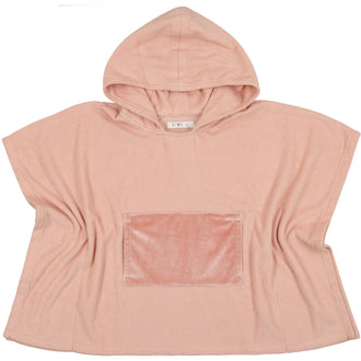 Smoky Rose Terry Poncho