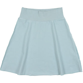 Pale Blue French Terry Skirt