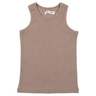 Taupe Ribbed Tank