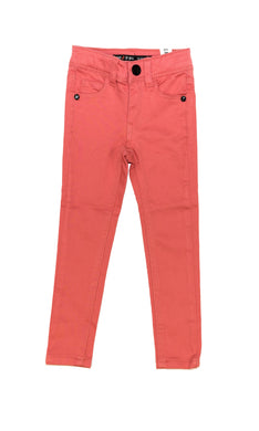 Pink Skinny Denim Pants