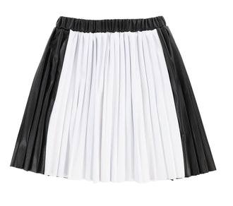 White & Black Skirt