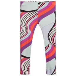 Pink Multi Wave Print Legging