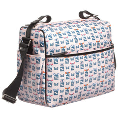 Fendi Pink Bug Print Baby Bag