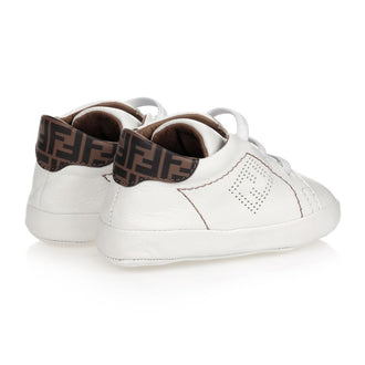 White Crib Shoe Sneakers