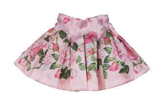 Rose Garden Pleated Skirt