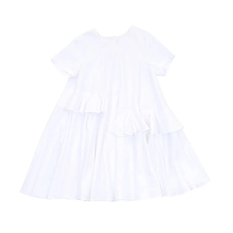 White Ruffles Dress