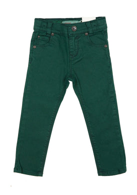 Green Slim Pants