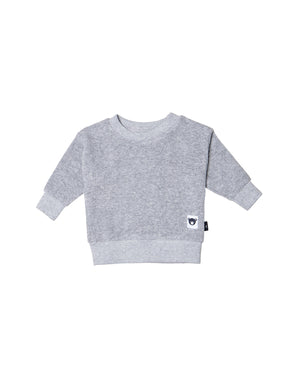 Grey Terry Sweatshirt