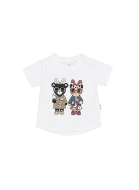White Almost Bunny Tee